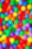 blurred colorful balls like out focus color spots