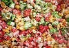 multi color, sweet pop corn macro