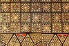 Asian handcraft inlaid mosaic wood box cover