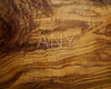 Olive tree wood texture from a wooden table