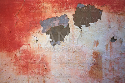 wall grunge cracked texture in pink and salmon