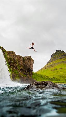 Kirkjufell Leap