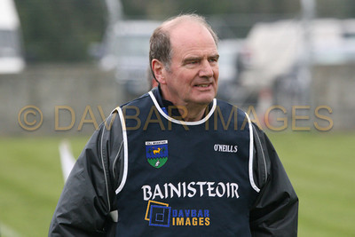 Mar 2007 - Wicklow Hurling Manager John Mitchell on the line for a match against Armagh in the National Hurling League