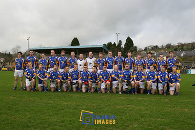 Jan 2007 - Mick O'Dwyer's first Wicklow team for O'Byrne Cup match against Carlow in Aughrim