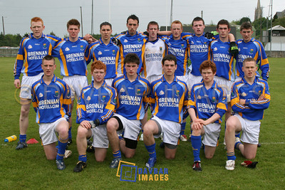 May 2007 - Wicklow Minor Football Championship Team