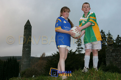 Dec 2005 - Photoshoot at Glendalough for Féile Peil na nÓg Chill Mhantáin 2006
