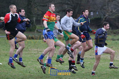Dec 2006 - Wicklow Senior Football Training Session in Laragh