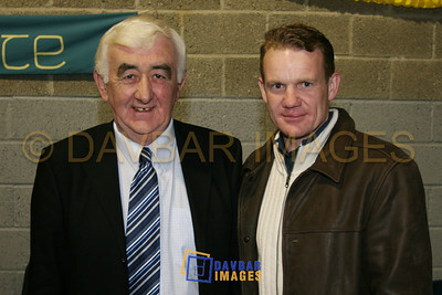 Feb 2006 - Pat Mitchell & Kevin O'Brien at a Juvenile Presentation evening
