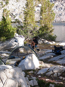 RAE LAKES BASIN BACKPACK 2009