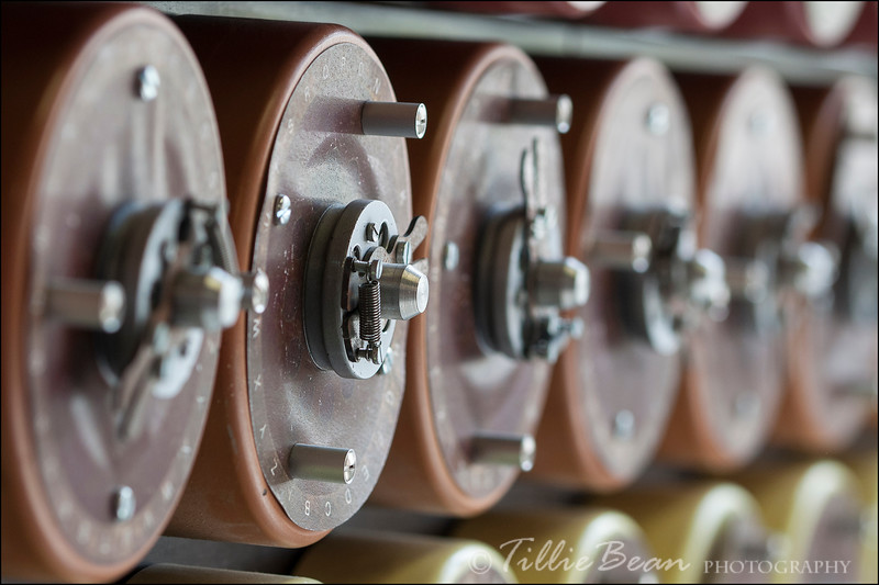The Bombe at Bletchley Park