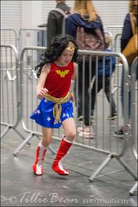 A Wonderwoman on a mission