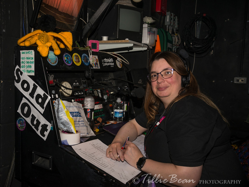 Week 28. Nicki, stage manager at the Haymarket Theatre, Basingstoke,UK