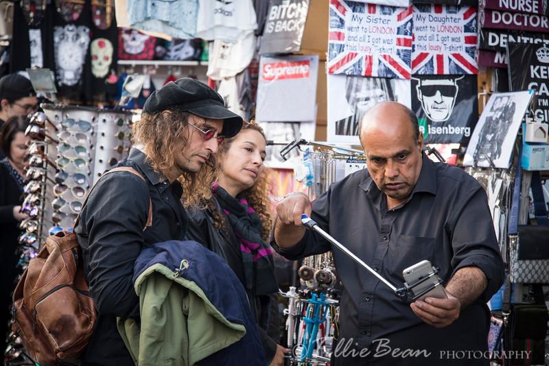 Week 37. Selfie trouble in Camden High Street, London