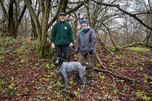 Week 52. Ron, Tray & Columbo out for a final walk of the year and some geocaching. Happy New Year!