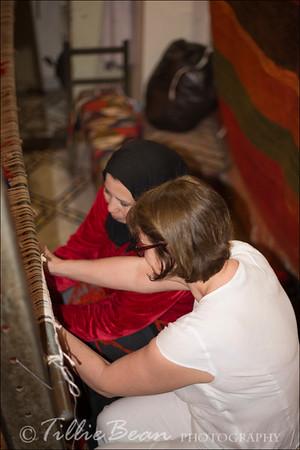 Marrakech Souks Carpet Weaving