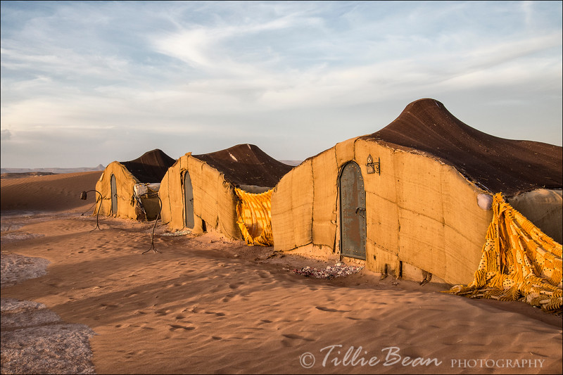 Bivouac in the Sahara