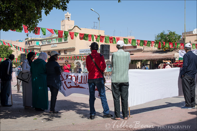 Taroudannt May Day Celebrations