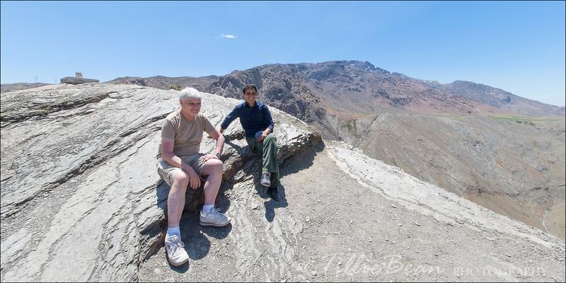 Tizi-n-Tichka Pass. High Atlas Mountains