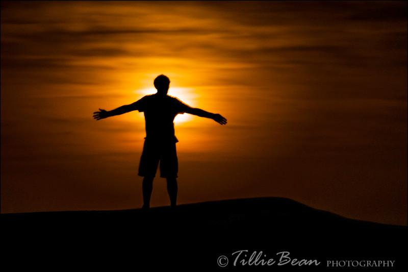 Sahara Moonrise
