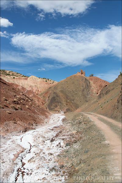 Salt River near Telouet