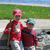 Patrick & Ryan Keefe, out and about in Nova Scotia, shared by Marjorie