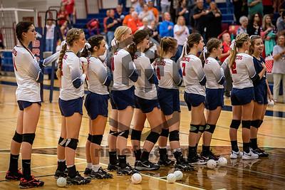 BACS Varsity Volleyball 10.15.2019