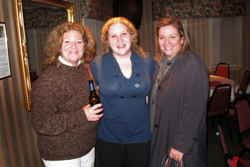 Barbara Levey, Laurel and Kathy Brenton.