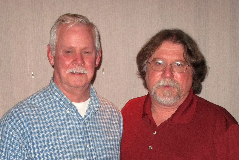 101  Band Member of 2008, Rich Denninger with Band Master, Steve Ruggles.