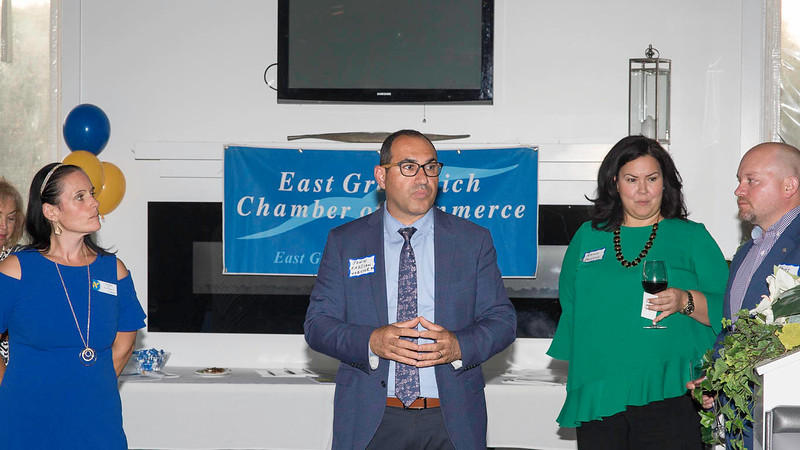 Business After Hours. Webster Bank, East Greenwich Chamber of Commerce