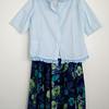 Kinderbluse Größe 164, Franziska Wolff, findet Inspiration für ihr künstlerisches Schaffen in solchen gefunden Kleidungsstücken.