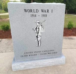 WWI Memorial Bicentennial park Baldwin County AL