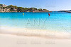 Majorca Porto Cristo beach in Manacor at Mallorca