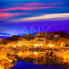 Port de Soller sunset in Majorca at Balearic island