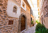 Fornalutx village in Majorca Balearic island