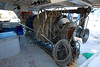 Fishing trawler boat engine motor huge winche
