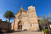 Alcudia Old Town Sant Jaume church in Majorca
