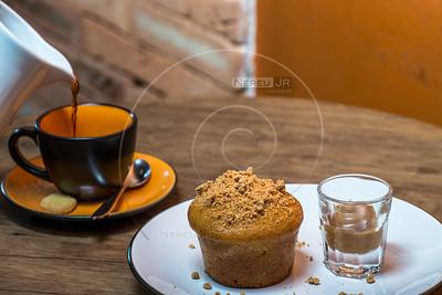 Muffin de Paçoca ( São João)