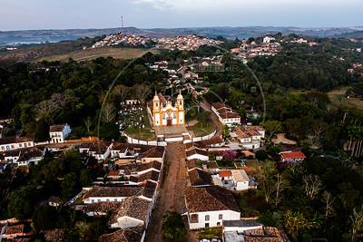 Assunto: Vista aérea de Tiradentes - Minas Gerais                       Local: Tiradentes - MG Data: 05/2021 Autor: Nereu Jr