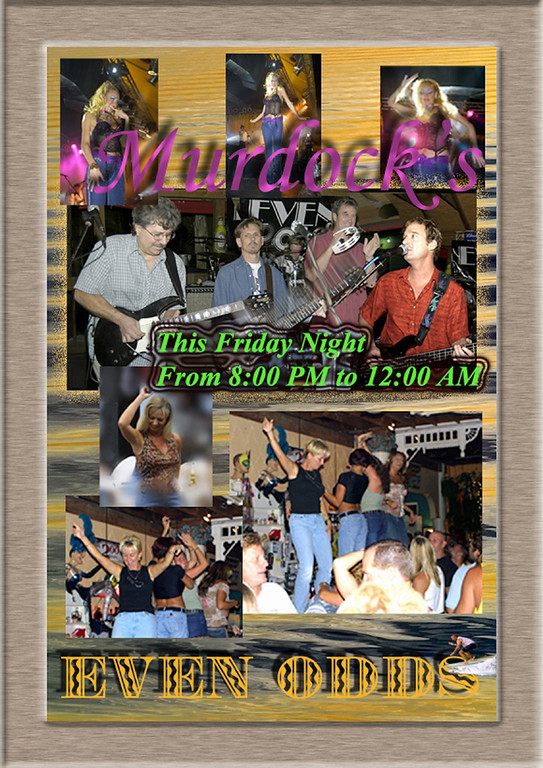 EVEN ODDS Flyer Murdocks Dancers copy