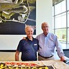 """We actually had a mutual friend who used to race against (I feel like I've known him for years) George. I said, """"He told me anytime he needed a Porsche part and you had it in your trailer you would give it to him."""" He said, """"We did that back in the 60's."""""""