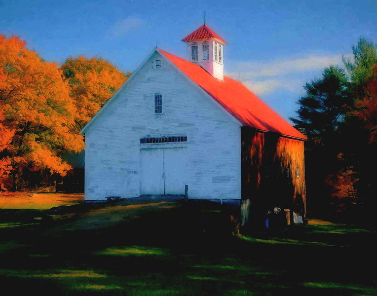 Musterfield Farm Fall Barn, N.Sutton, NH #2