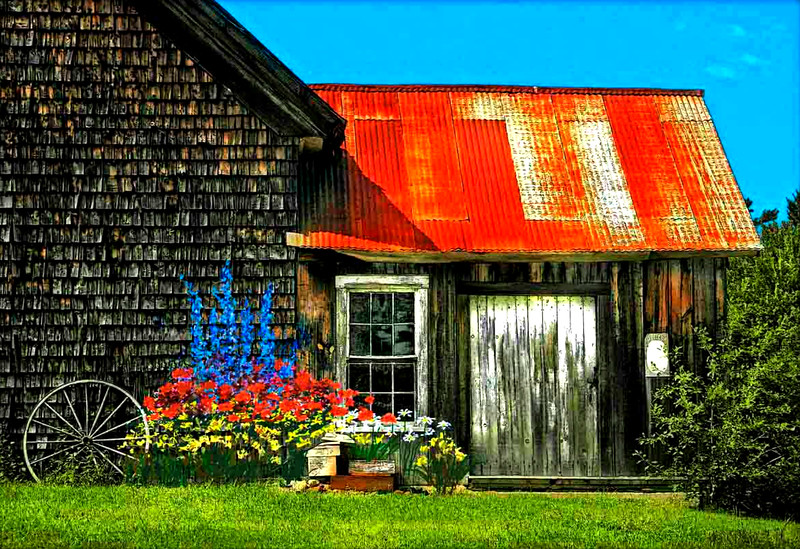 Barn rust, newport, NH