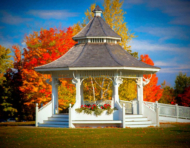 New london Bandstand, NH #2