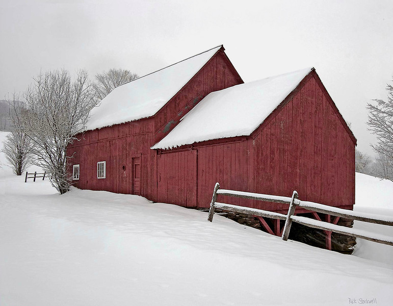 barns on RED BARN ROAD, Quechee , VT #16