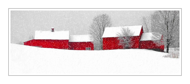 barns on RED BARN ROAD, Quechee , VT #10