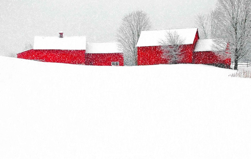 barns on RED BARN ROAD, Quechee , VT #4