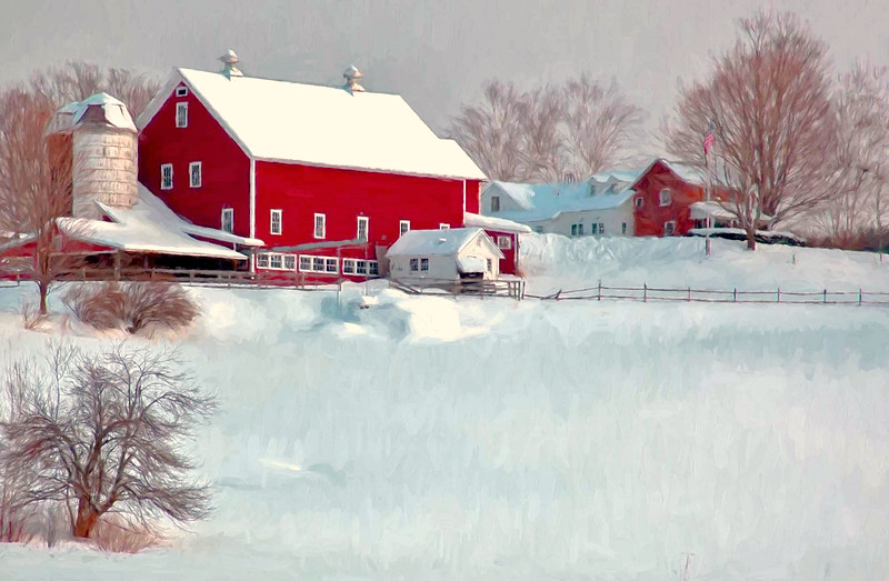 South Woodstock, Vermont Dairy Farm