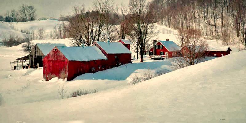 Jenne Farm, Reading, VT pan