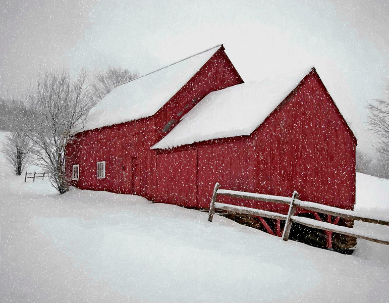 barns on RED BARN ROAD, Quechee , VT #17