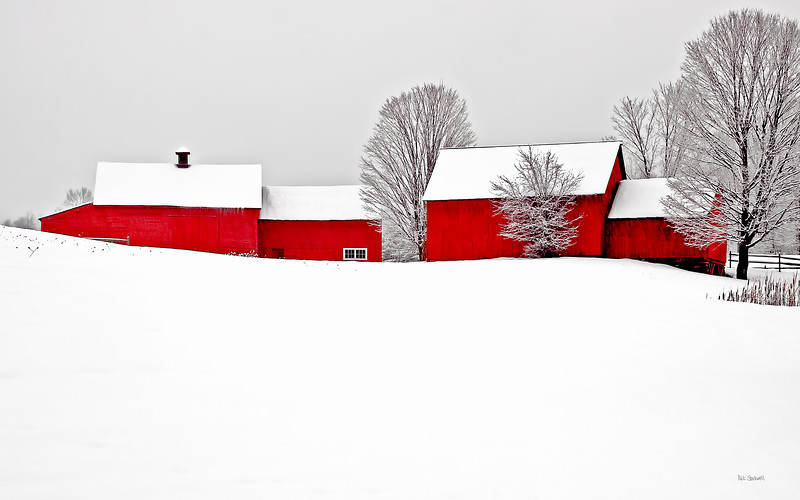 barns on RED BARN ROAD, Quechee , VT #9